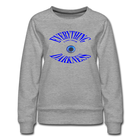 Women's Premium Sweatshirt - heather gray