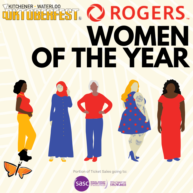Roger's Women of the Year