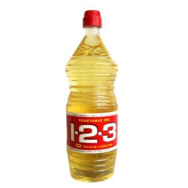123 VEGETABLE OIL 24/16.9OZ