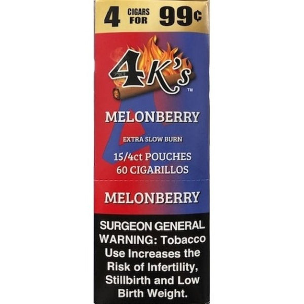 4 KINGS 15/4CT 4/99¢ MELON BERRY