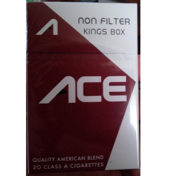 ACE  MAROON NON FILTER BX