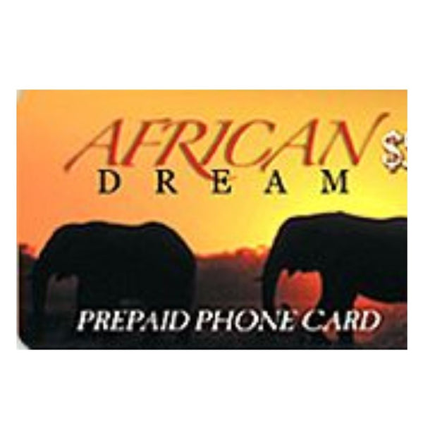 AFRICAN DREAM $2  CARD 1CT
