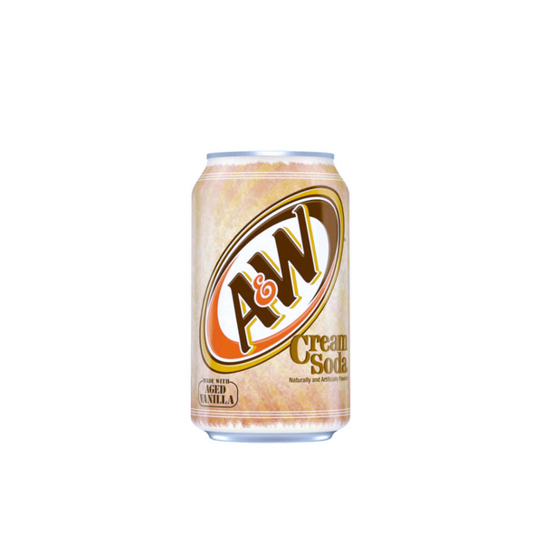 A&W 12/12OZ CREAM SODA CAN