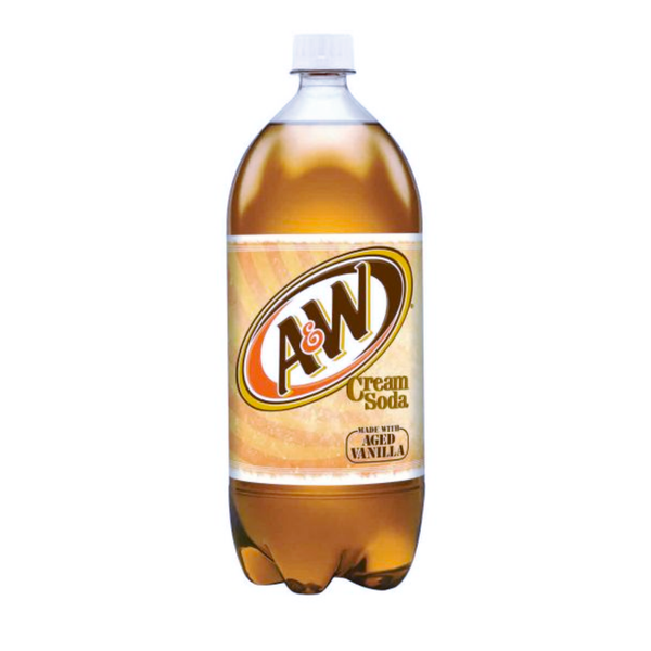 A&W  CREAM SODA 8/2LT