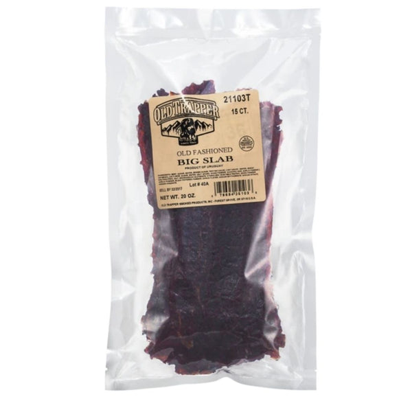 BEEF JERKY SLAB 15CT OLD FASHIONED