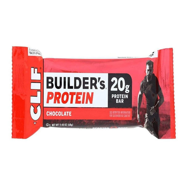 CLIF BAR BUILDERS 12/2.4OZ CHOCLATE
