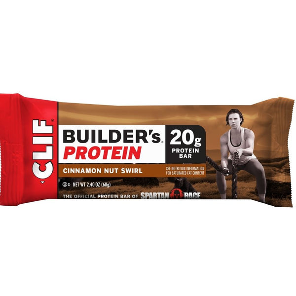 CLIF BAR BUILDER'S CINNAMON 12/2.4OZ