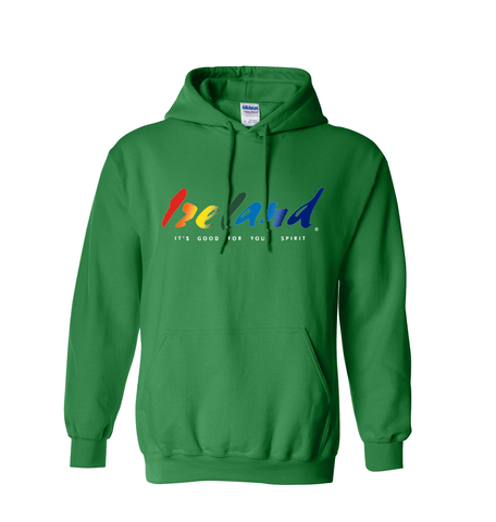 Green hoodie - mycoloursclothing