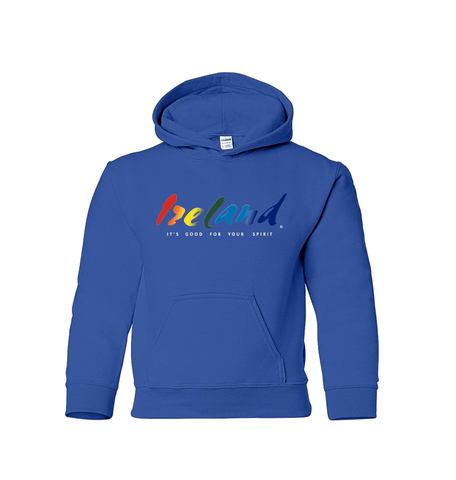 Blue Kids Hoodies - mycoloursclothing