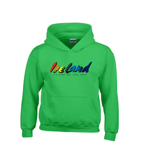 Green Kids Hoodies - mycoloursclothing
