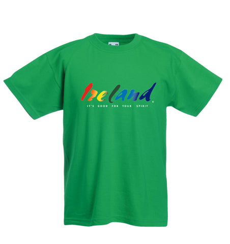 Kids green t-shirt