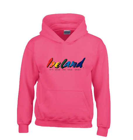 Fuchsia Kids Hoodies - mycoloursclothing