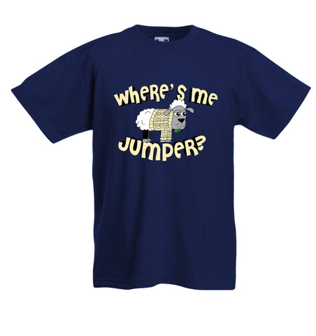 Where is me jumper Kids tee