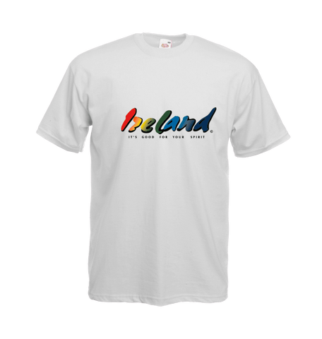 Ireland's white t-shirt - mycoloursclothing