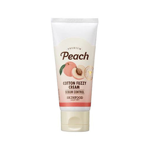 [Skinfood] Premium Peach Cotton Fuzzy Cream 60ml