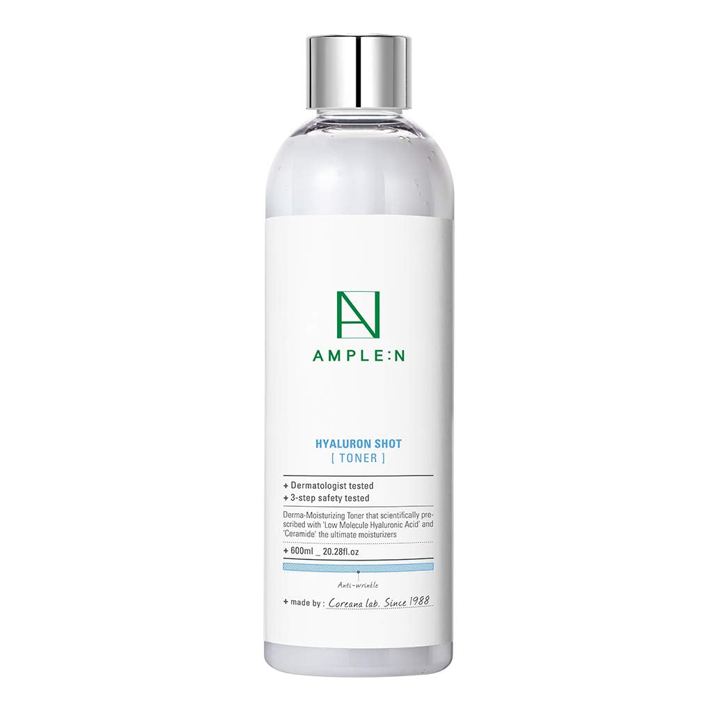 [AMPLE N] *BIG SIZE* HyaluronShot Toner 600ml