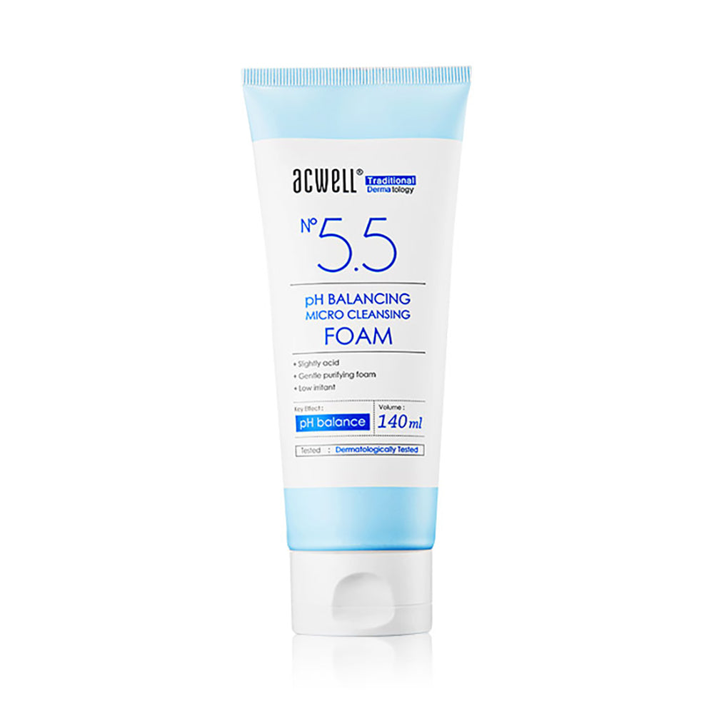 [Acwell] No 5.5 pH Balancing micro cleansing foam 140ml