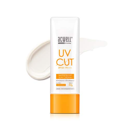 [ACWELL] UV Cut Waterproof Sun Cream SPF50+ PA++++ 50g