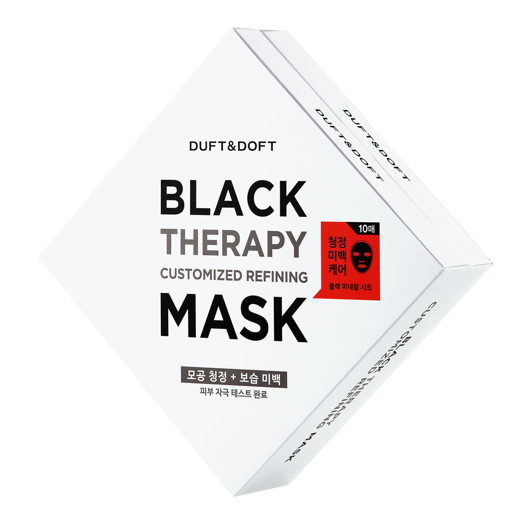 [DUFT&DOFT] Black Therapy Customized Refining Sheet Mask