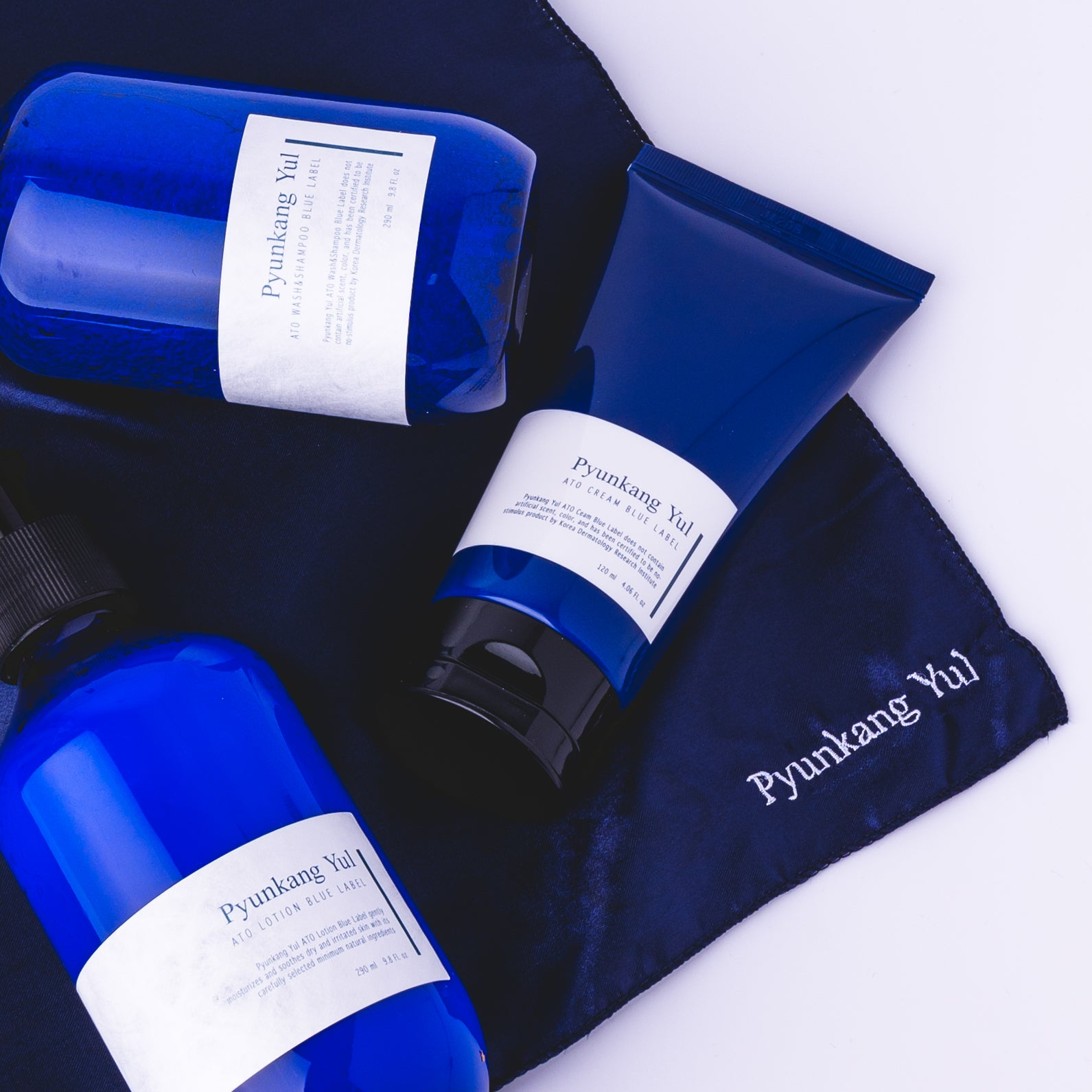 [Pyunkang yul] Blue Label ATO Skincare Set