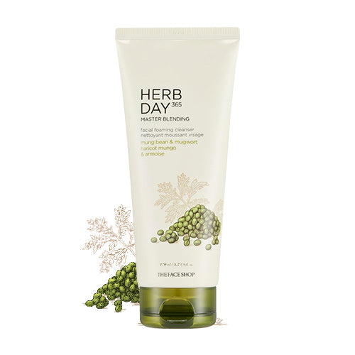 [THE FACE SHOP] Herbday 365 Cleansing Foam