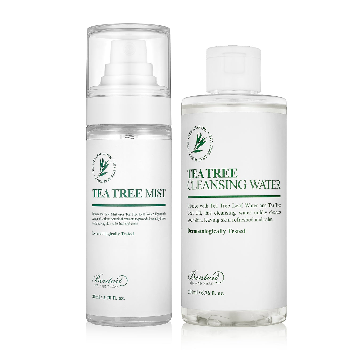 [BENTON] Tea Tree Duo (Cleansing Water 200ml + Mist 80ml)