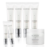 [KLAVUU] White Pearlsation Ideal Actress Backstage Cream Set SPF30 PA++ 50ml X 4ea + 30ml X 2ea + Cleansing Pads