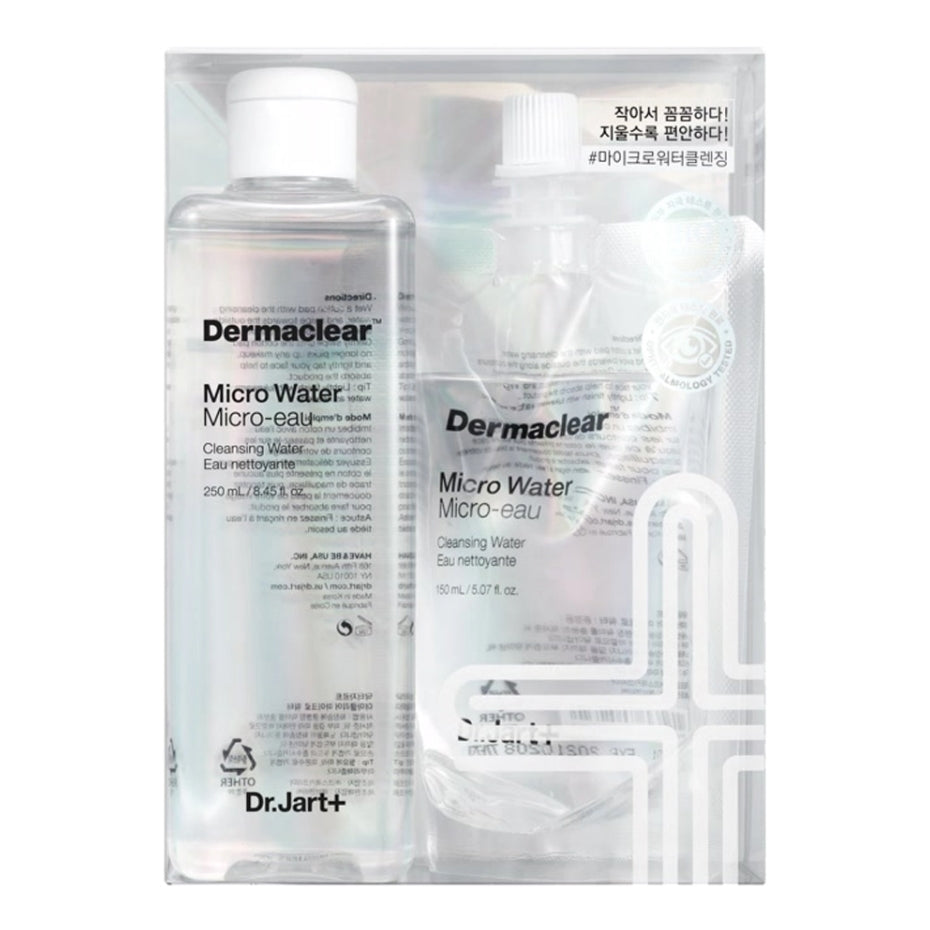 [Dr.Jart+] Dermaclear Micro Cleansing Water 250ml + Refill