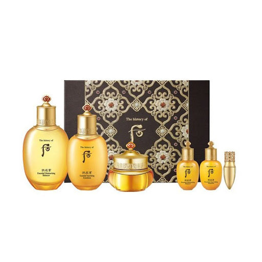 [The History of Whoo] Gongjinhyang Essential Moisturizing 3pcs Set