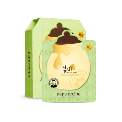 [Paparecipe] Bombee Honey Mask Pack 10 ea