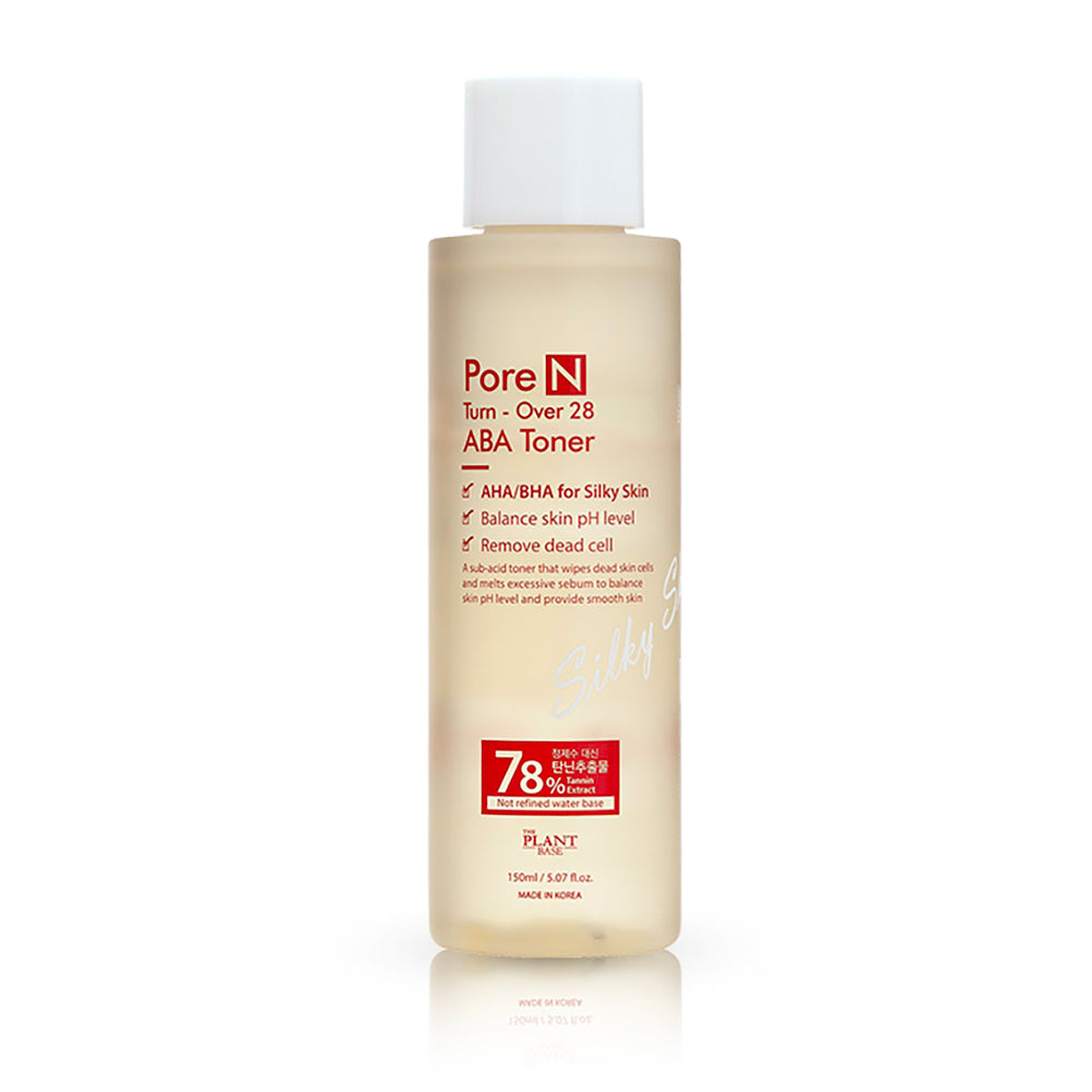 [The Plant Base] Pore N Turn-Over 28 ABA Toner 125ml