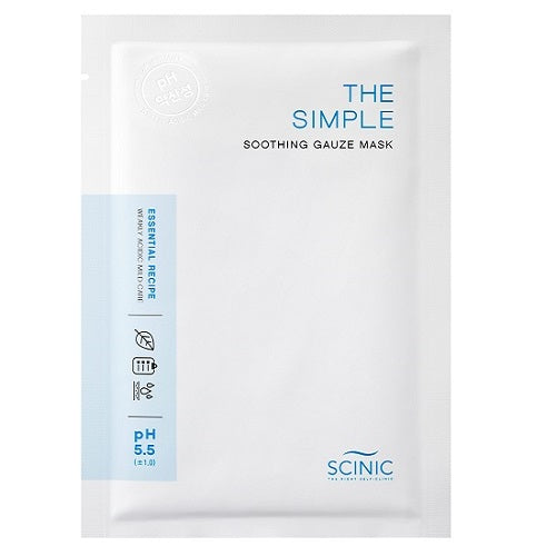[SCINIC] The Simple Soothing Gauze Mask 25ml