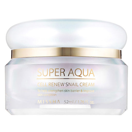 [Missha] Super Aqua Cell Renew Snail Cream 52ml