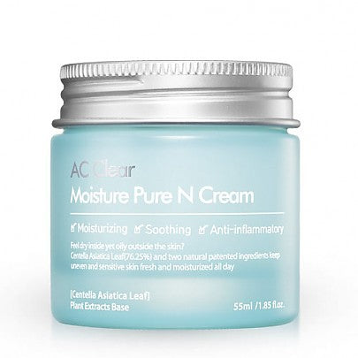 [The Plant Base] AC Clear Moisture Pure N Cream 55ml