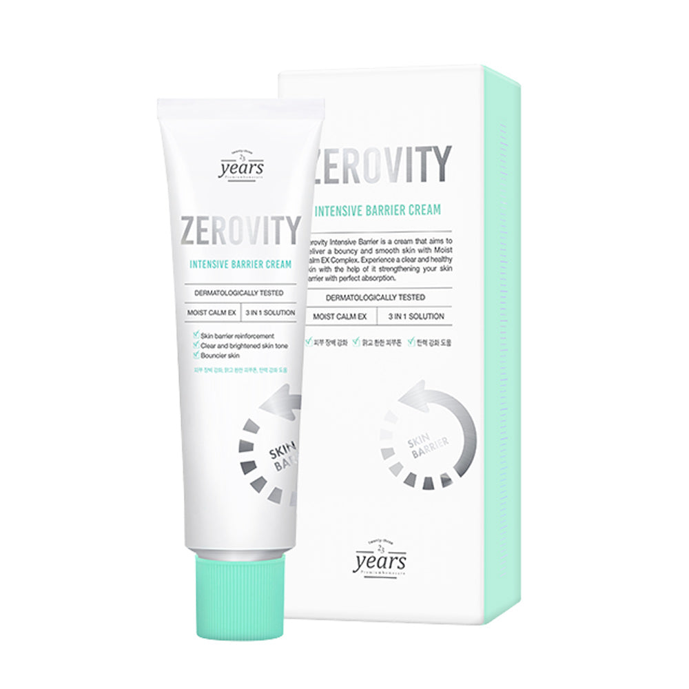***[23 years old] Zerovity Intensive Barrier 50g