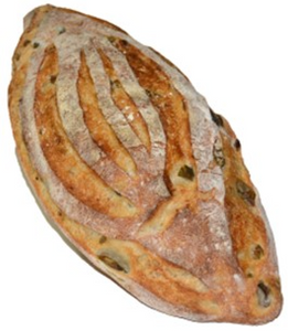 Green Olive and Chipotle Batard