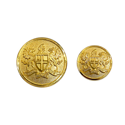 TYLER & TYLER Blazer Buttons London Coat of Arms Large and Small