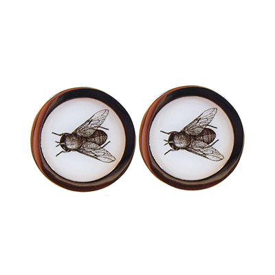 TYLER & TYLER Capsule Two-Tone Cufflinks Fly Front
