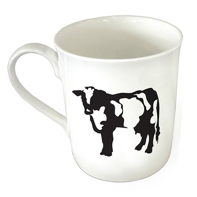 TYLER & TYLER Fine Bone China Mug Cow