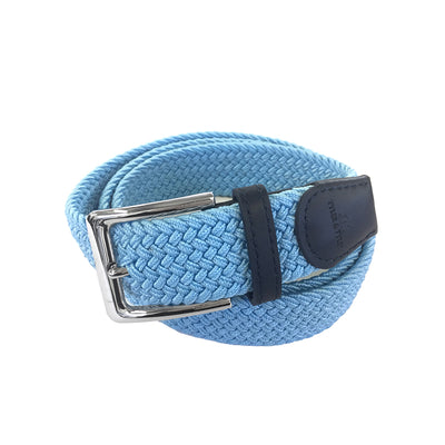 TYLER & TYLER Light Blue Woven Belt
