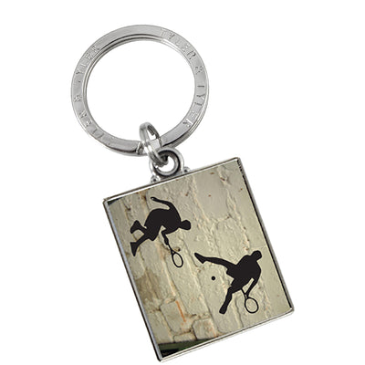 TYLER & TYLER Metal Key Ring Tennis