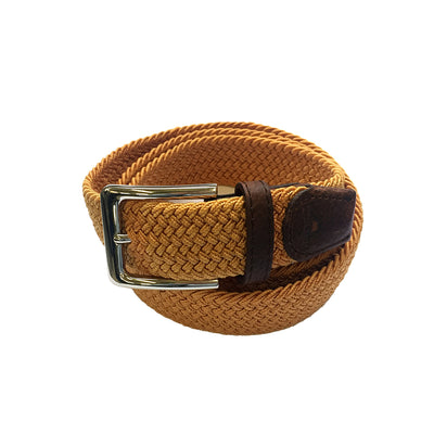 TYLER & TYLER Orange Woven Belt