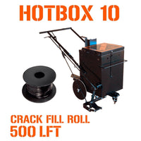 HOTBOX 10 + 500 LFT Crack Filler Roll Pavemade.com Single Torch