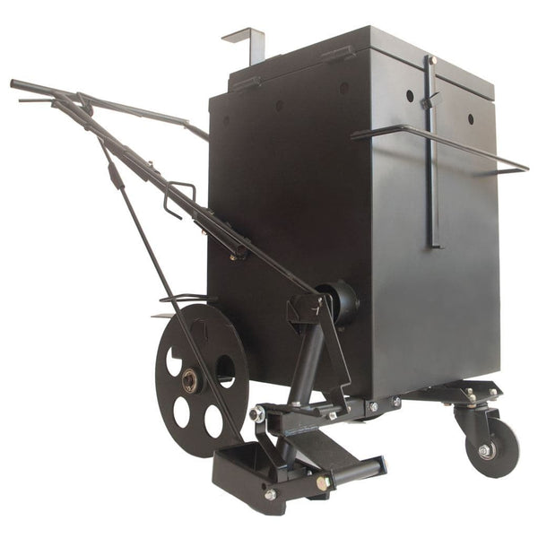 Asphalt crack filler machine direct fire melter