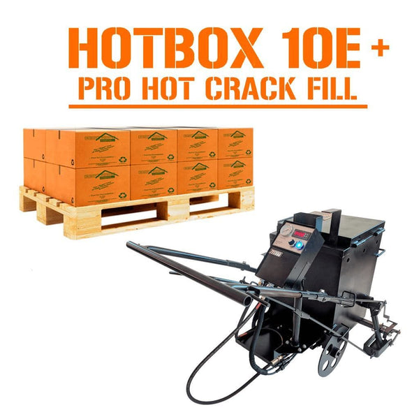 HOTBOX 10E + 1/2 Pallet Right Pointe Crack Sealant Pavemade.com