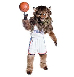 ox buffalo basketball costume - Alinco costumes
