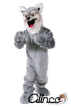 Howard Husky Wolf Dog Mascot Costume
