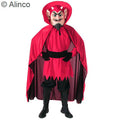 devil economy mascot costume in red or blue