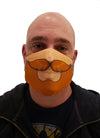 red beard face mask face guard