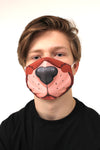 dog face mask face guard